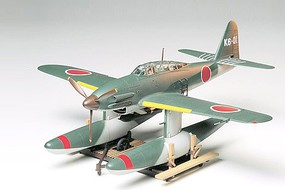 Tamiya Aichi M6A1 Seiran Attack Floatplane WWII Plastic Model Airplane Kit 1/48 Scale #61054
