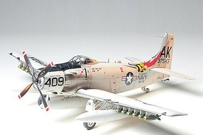 Tamiya Douglas Skyraider AD-6 Attack Aircraft Plastic Model Airplane Kit 1/48 Scale #61058