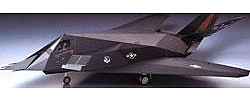 Tamiya Lockheed F-117A Nighthawk Stealth Aircraft Plastic Model Airplane Kit 1/48 Scale #61059