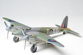 Tamiya De Havilland Mosquito Fighter Aircraft WWII Plastic Model Airplane Kit 1/48 Scale #61062