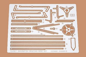Tamiya Fairey Swordfish Photo-Etched Detail Parts Plastic Model Airplane Kit 1/48 Scale #61069