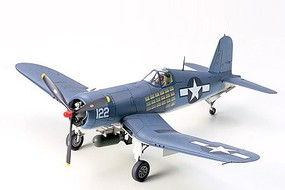 Tamiya Vought F4U-1A Corsair Fighter Aircraft Plastic Model Airplane Kit 1/48 Scale #61070