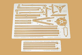 Tamiya Swordfsh Floatplane Wire Photo Etched Parts Plastic Model Airplane Kit 1/48 Scale #61072