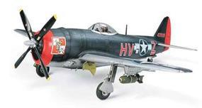 Tamiya Republic P-47M Thunderbolt Fighter Plastic Model Airplane Kit 1/48 Scale #61096