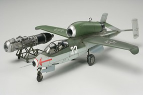 Tamiya Heinkel HE162 A2 Salamander Plastic Model Airplane Kit 1/48 Scale #61097