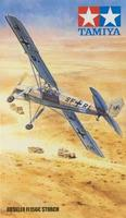 Tamiya Fieseler Fi156C Storch Reconnaissance Aircraft Plastic Model Airplane Kit 1/48 Scale #61100