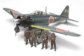 Tamiya Mitsubishi A6M5/5a Zero Fighter Zeke Aircraft Plastic Model Airplane Kit 1/48 Scale #61103