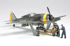 Tamiya Focke-Wulf Fw190 F-8/9 w/Bomb Loading Set Plastic Model Airplane Kit 1/48 Scale #61104