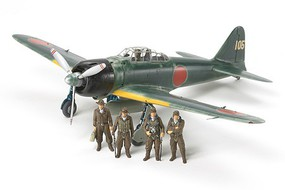 Tamiya Mitsubishi A6M3/3A (Zeke) Fighter Aircraft Plastic Model Airplane Kit 1/48 Scale #61108