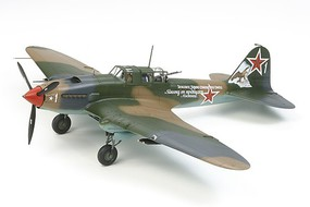 Tamiya Ilyushin IL-2 Shturmovik Attack Plastic Model Airplane Kit 1/48 Scale #61113