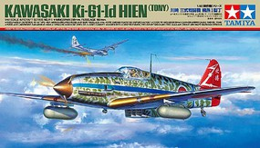 Tamiya Kawasaki Ki-61-Id Hien (Tony) Plastic Model Airplane Kit 1/48 Scale #61115