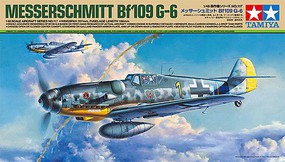 Tamiya Messerschmitt Bf 109 G-6 Plastic Model Airplane Kit 1/48 Scale #61117