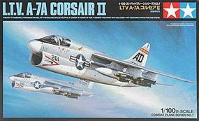 Tamiya LTV A-7A Corsair II Ground Attack Aircraft Plastic Model Airplane Kit 1/100 Scale #61607