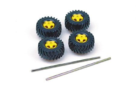 Tamiya Truck Tire Set