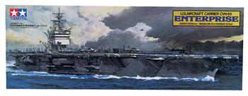 Tamiya USS Enterprise Carrier Boat -- Plastic Model Military Ship Kit -- 1/350 Scale -- #78007
