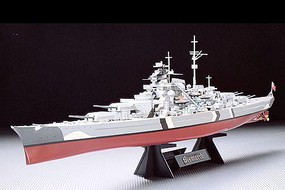 Tamiya German Bismarck Battleship Boat Plastic Model Military Ship Kit 1/350 Scale #78013