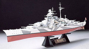Tamiya GERMAN BATTLESHIP TIRPITZ BOAT Plastic Model Military Ship Kit 1/350 Scale #78015