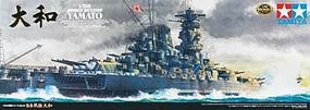 Tamiya Japanese Battleship Yamato Boat Plastic Model Military Ship Kit 1/350 Scale #78025