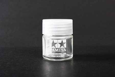Tamiya Bottle Mini Round (pack of 6) -- Hobby and Model Paint Supply -- #81044
