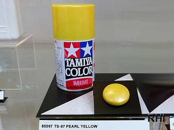 Tamiya Spray TS-97 Pearl Yellow 100ml Hobby and Model Lacquer Paint #85097