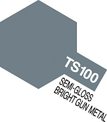 Tamiya Spray TS-100 Bright Gun Metal 100ml
