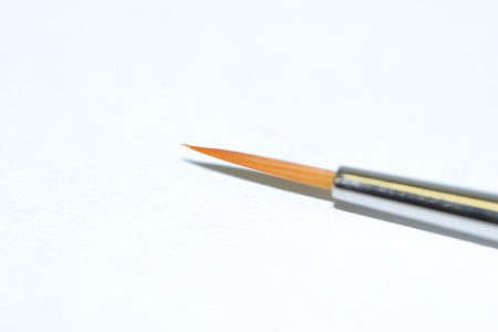 Tamiya High Finish Pointed Paint Brush -- Fine Tip -- Synthetic -- #87049