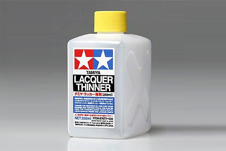 Tamiya Lacquer Thinner 8 oz -- Hobby and Model Acrylic Paint -- #87077