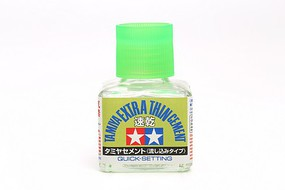 Tamiya (bulk of 6) Extra Thin Cement Quick Setting (40ml Bottle)