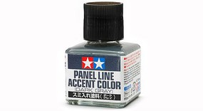 Tamiya Panel Line Accent Color, Dark Gray