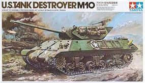 Tamiya US Tank Destroyer M10 Plastic Model Military Vehicle Kit 1/35 Scale #89554