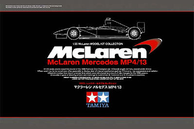 Tamiya McLaren Mercedes MP4/13 Limited Edition F1 GP -- Plastic Model Car Kit -- 1/20 Scale -- #89718