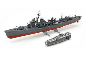 Tamiya IJN Yugurmo w/Submarine Motor Boat Plastic Model Military Ship Kit 1/300 Scale #89734