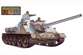 Tamiya Russian Su100 Tank Destroyer w/Weathering Set Plastic Model Military Kit 1/35 Scale #89791