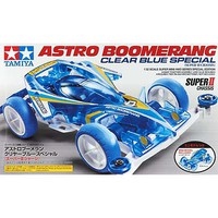 Tamiya 1/32 Astro-Boomerang Clear Blue Super II Chassis