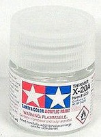Tamiya Mini Acrylic Thinner (6/Bx)