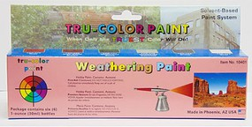 Tru-Color Sprayable Weathering Set #1 (6)