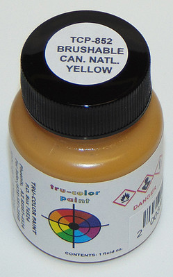 True-Color Railroad Paint FLAT CANADIAN NAT YELLOW 3pk