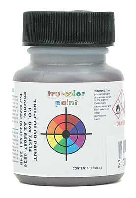 Tru-Color Flat Brushable Color Acrylic Paint 1oz 29.6ml Yellow Ochre