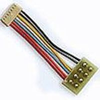 TCS DCC Decoder Harness MC-1R NMRA 8-Pin Plug Rotated 180 Degrees, 1 2.54cm for MC Series Decode