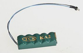 TCS KA2 Keep Alive Device With 2-Pin Quick Connect Harness Model Train Electrical Accessory #1457