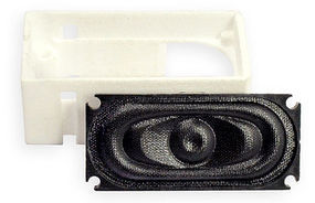 TCS ATL-SH1 Atlas RS Speaker Housing w/Speaker Fits TCS 35 x 16mm WOWSpeaker (Replaces Interior Loco Weight)