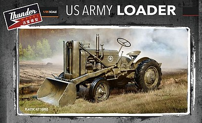 Thunder-Model 1/35 WWII US Military Front End Loader