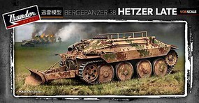 Thunder-Model 1/35 German Bergepanzer 38 Hetzer Late Recovery Vehicle