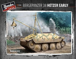 Thunder-Model 1/35 German Bergepanzer 38 Hetzer Early Recovery Vehicle