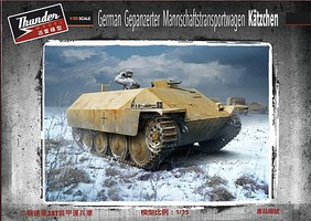 Thunder-Model 1/35 WWII German Katzchen Armored Personnel Carrier (New Tool)