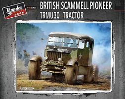 Thunder-Model 1/35 British Scammell Pioneer TRMU30 Tractor (New Tool)