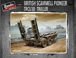 Thunder-Model 1/35 British Scammell Pioneer TRCU30 Trailer (New Tool)