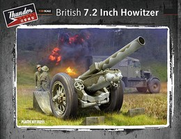 Thunder-Model 1/35 British 7.2-Inch Howitzer (New Tool)