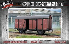 Thunder-Model 1/35 German Gr Boxcar (New Tool)
