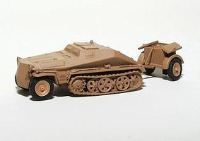 Trident SdKfz 250 Series Half-Tracks SdKfz 252 - Ammo Carrier HO Scale Model Roadway Vehicle #81017